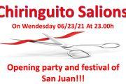 Inauguración Chiringuito