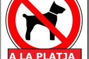 Prohibició de gossos a la platja